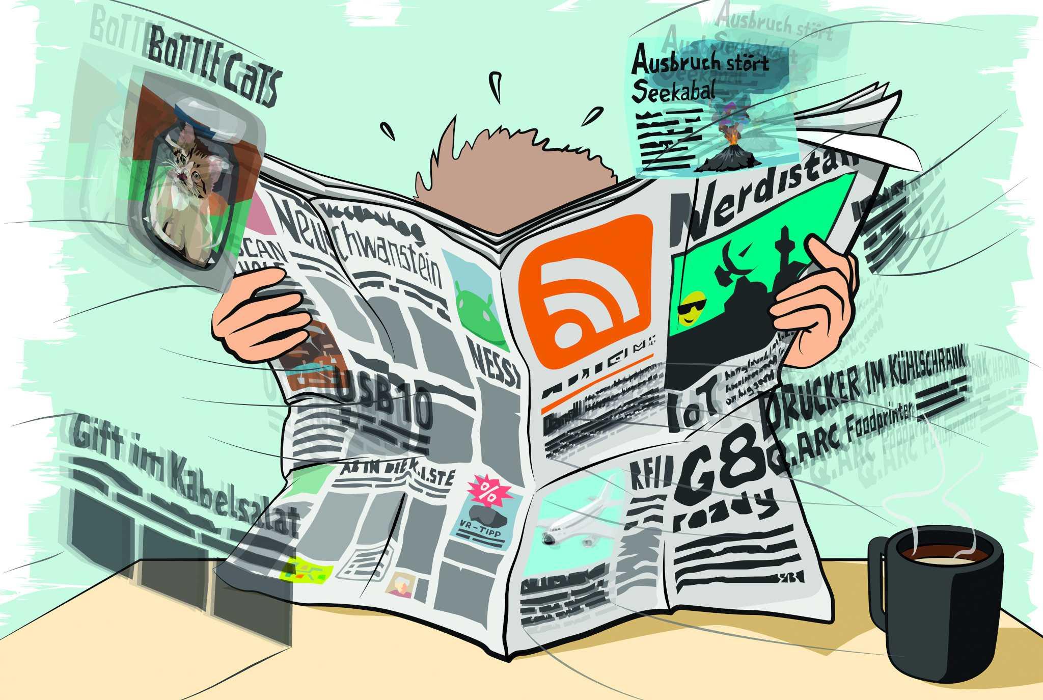 RSS: Relevante, selbstverwaltete Schlagzeilen