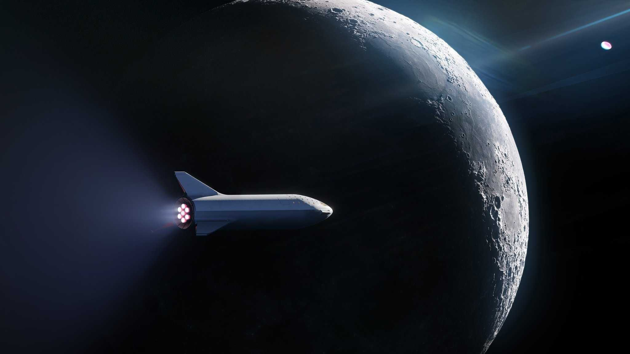 SpaceX will Weltraumtouristen für Flug um Mond vorstellen