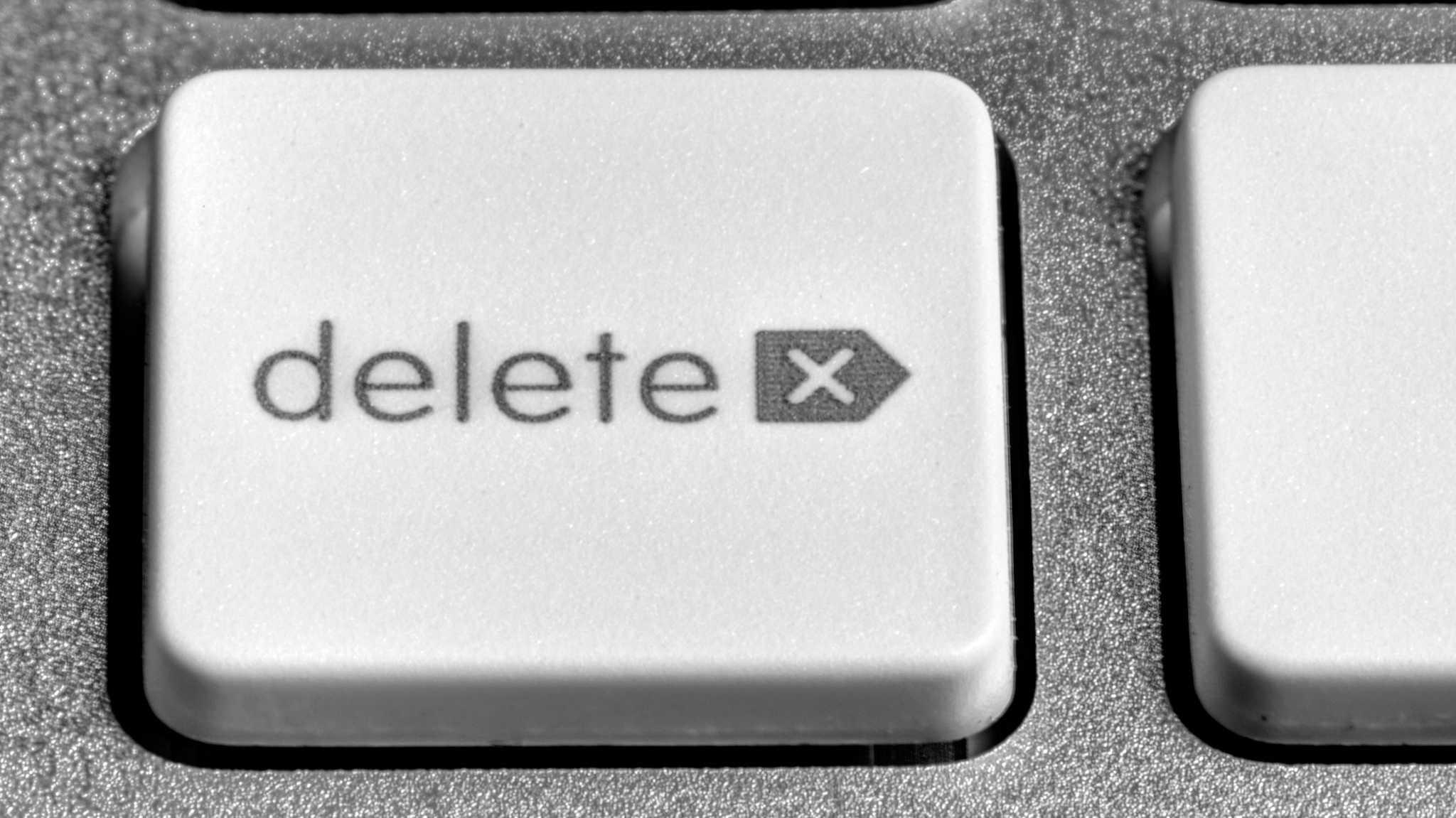 """delete""-Taste"