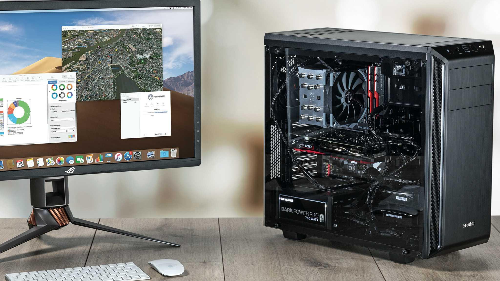 Hackintosh selbst bauen – statt teurem Mac