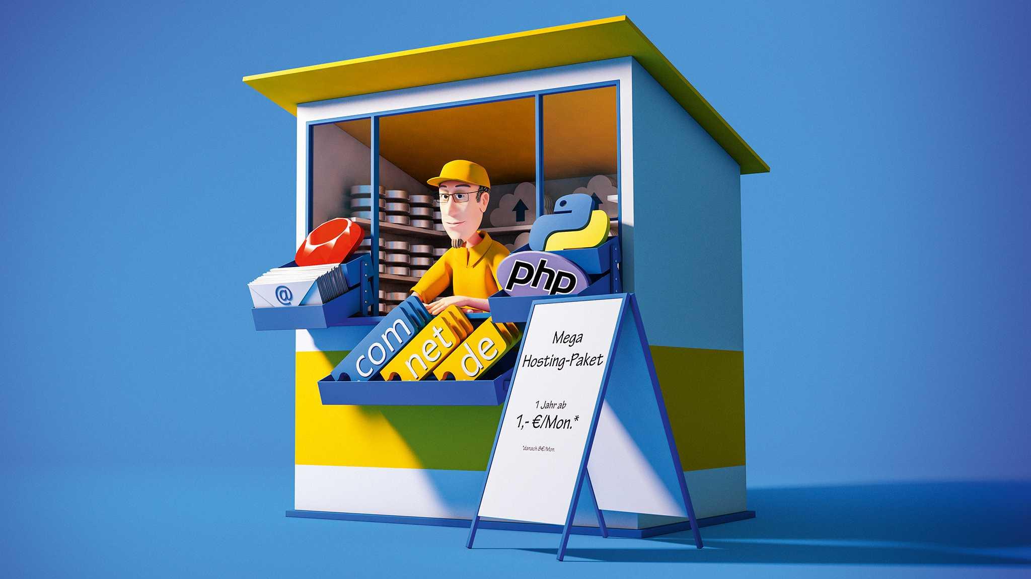 8 Webhosting-Pakete im Test: Nicht alle zuverlässig