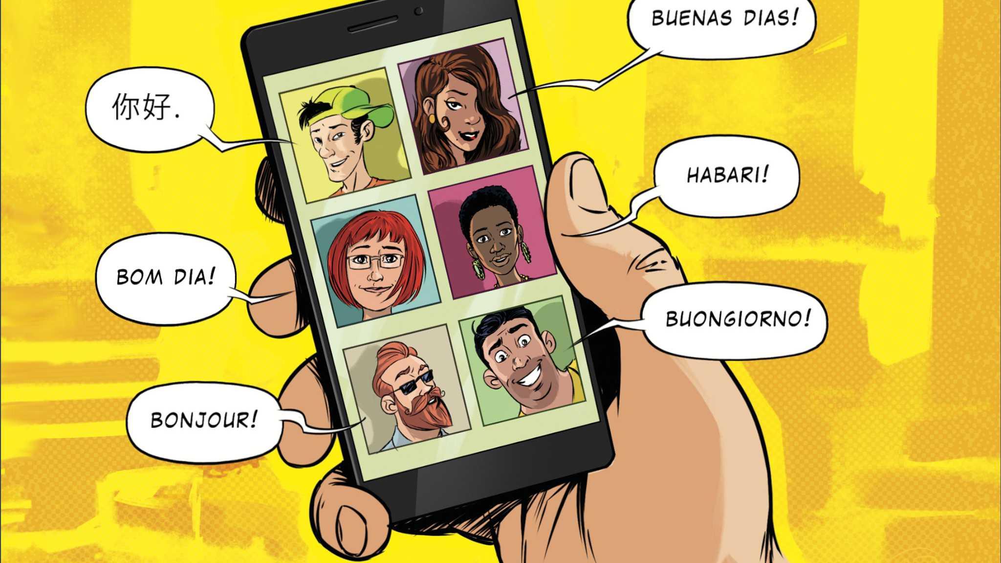 Sprachlern-Apps im Vergleich: Überall eine neue Sprache lernen