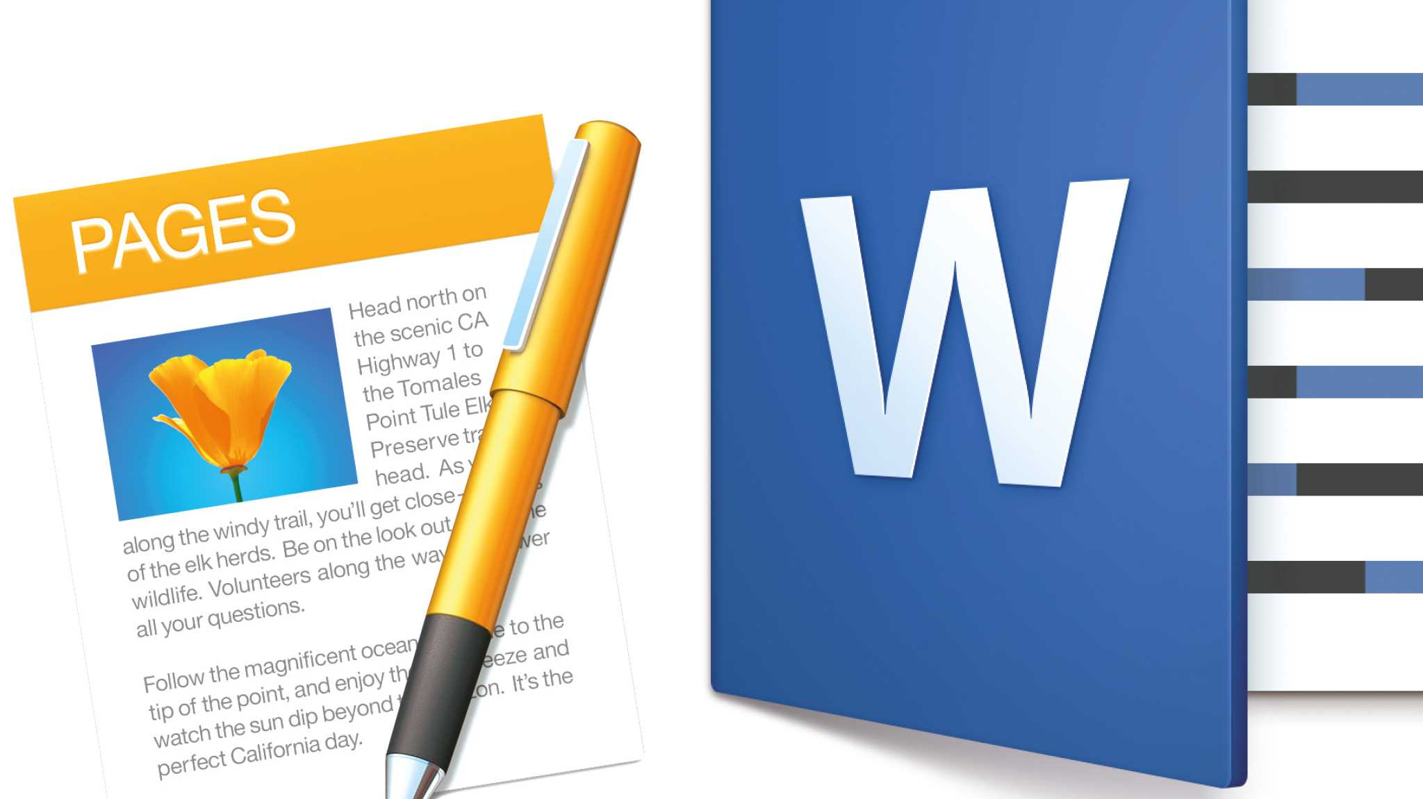 Office-Duell: Apple Pages gegen Microsoft Word