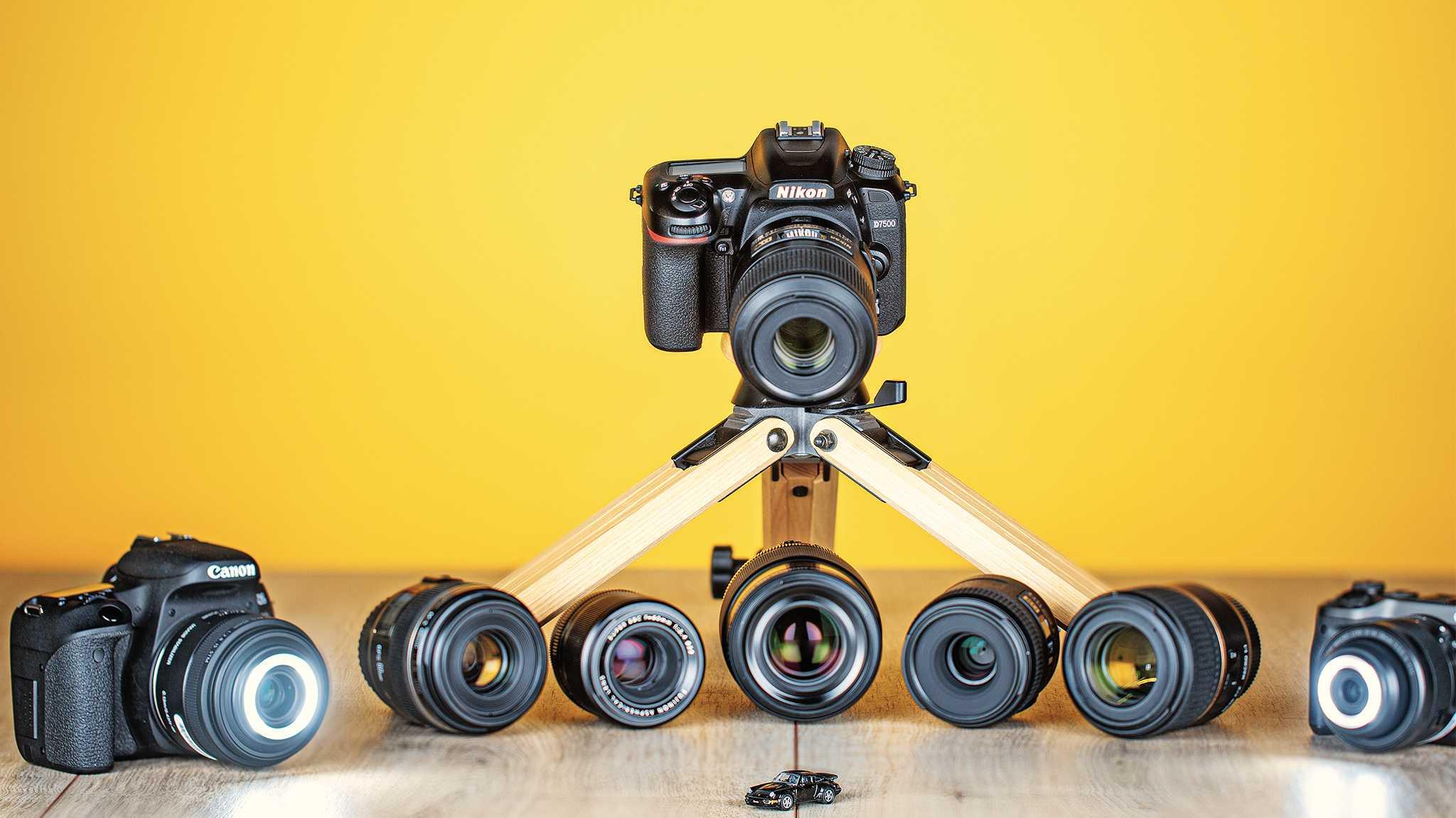 Objektivtest: Makrofestbrennweiten für APS-C-Kameras mit und ohne Spiegel
