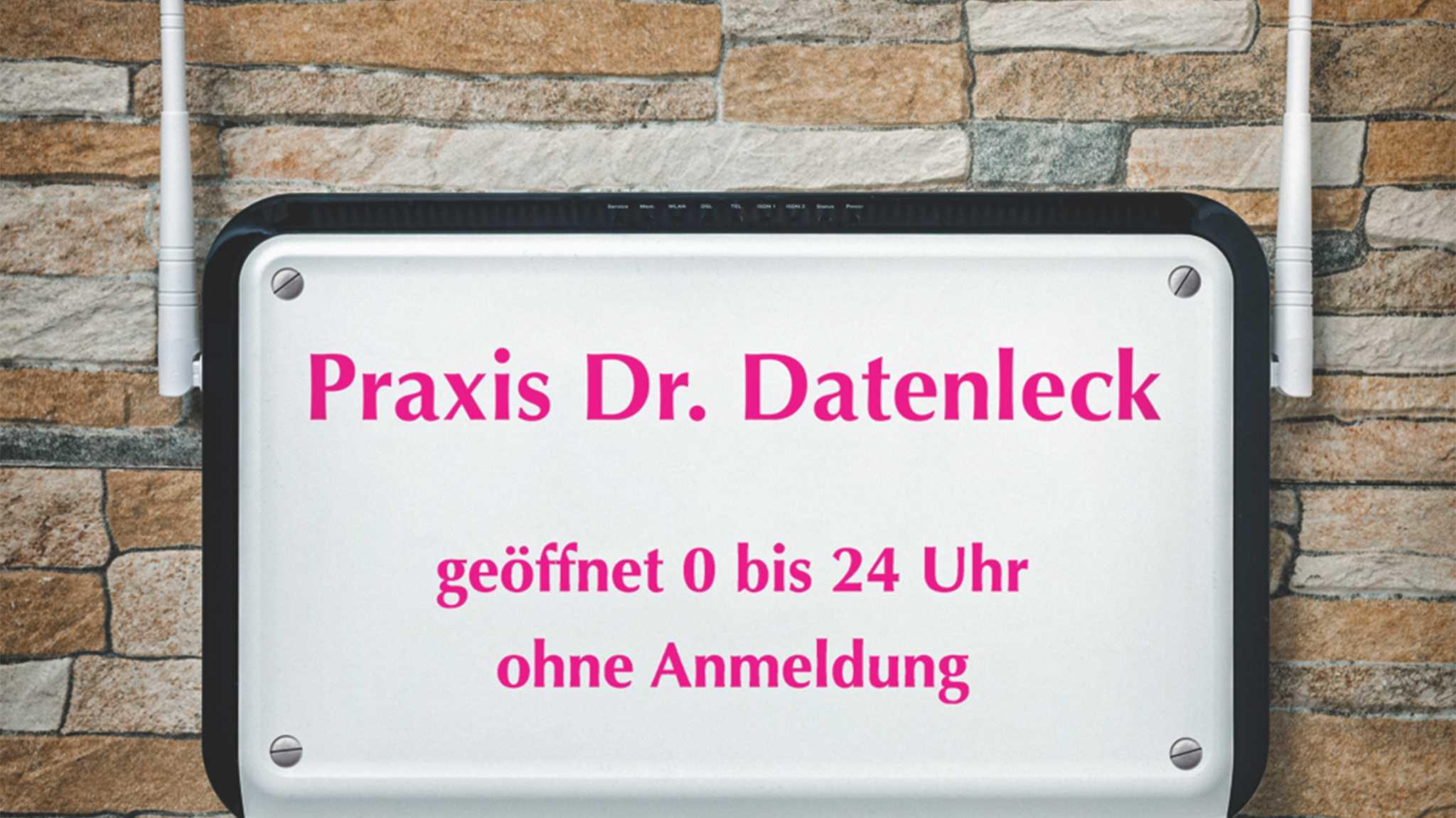 Nachholbedarf bei der IT-Sicherheit deutscher Arztpraxen