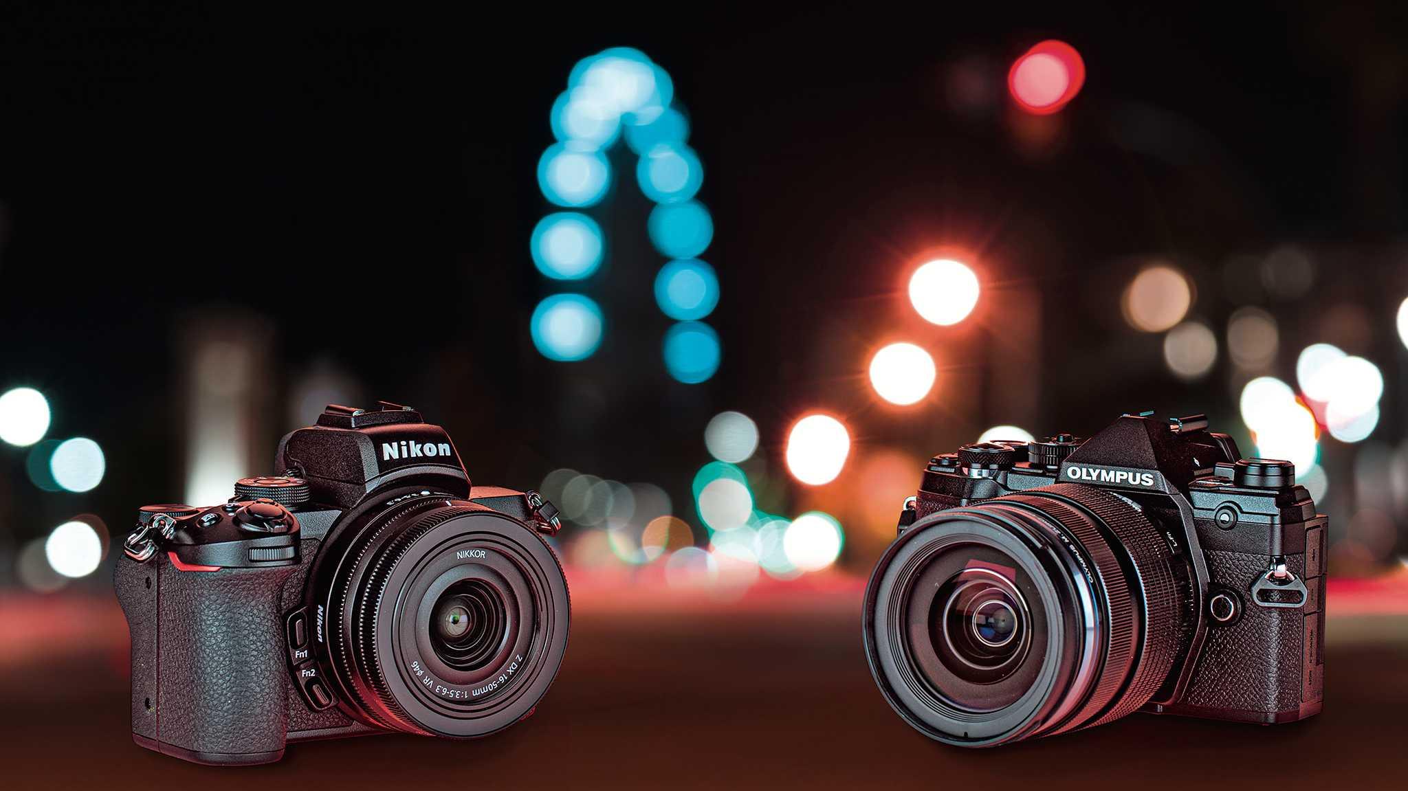 Test: Nikon Z 50 GEGEN Olympus OM-D E-M5 III