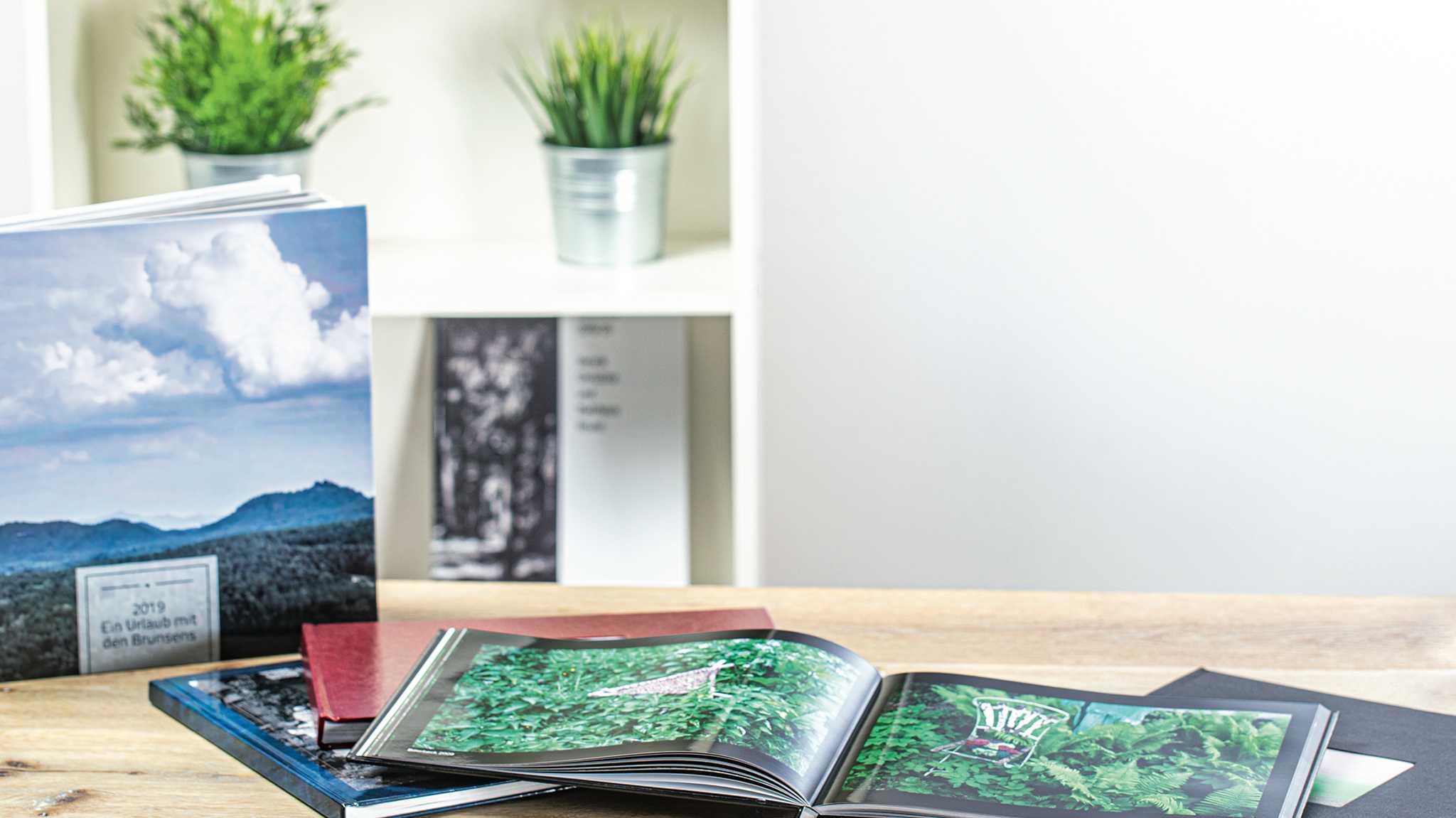 Fotobücher planen und gestalten