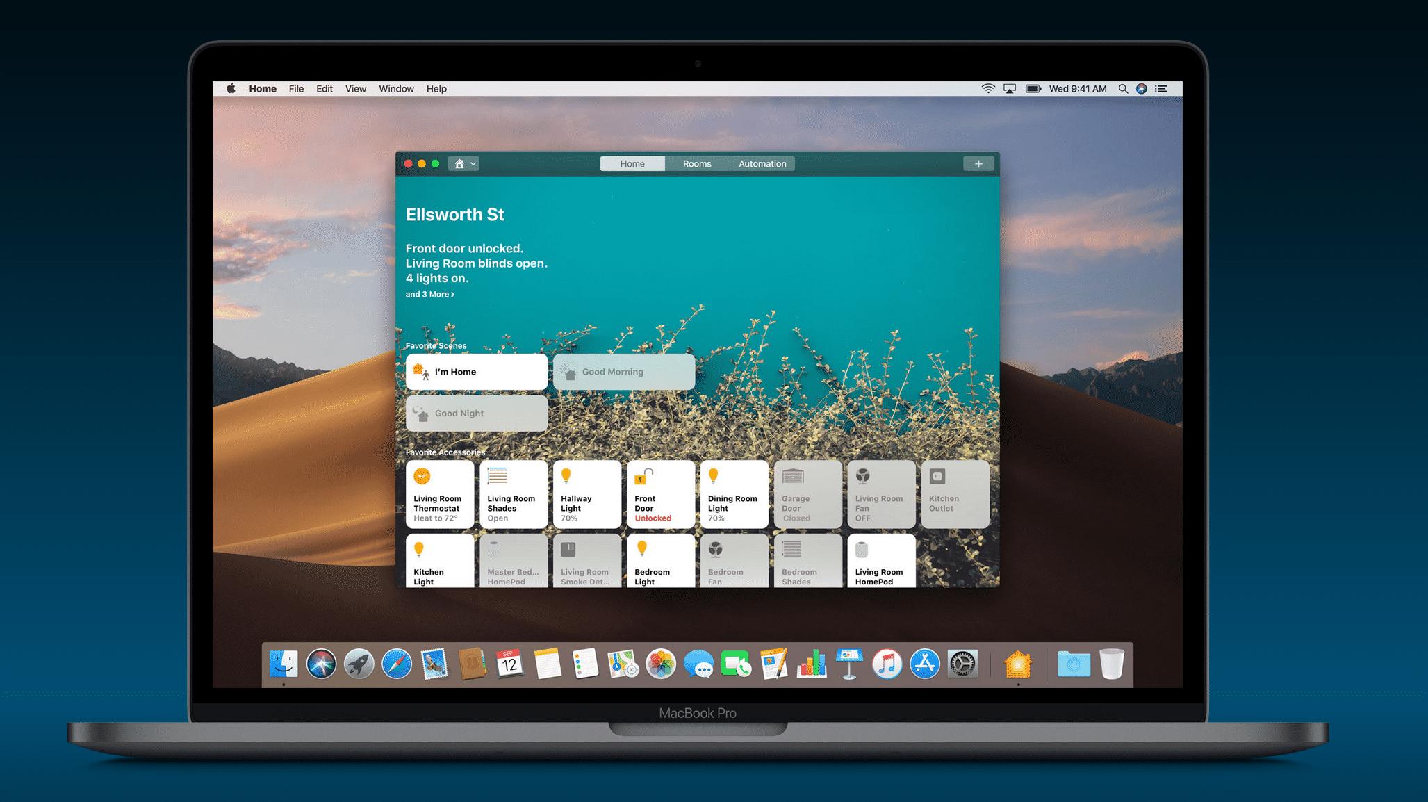 Mojave Home-App
