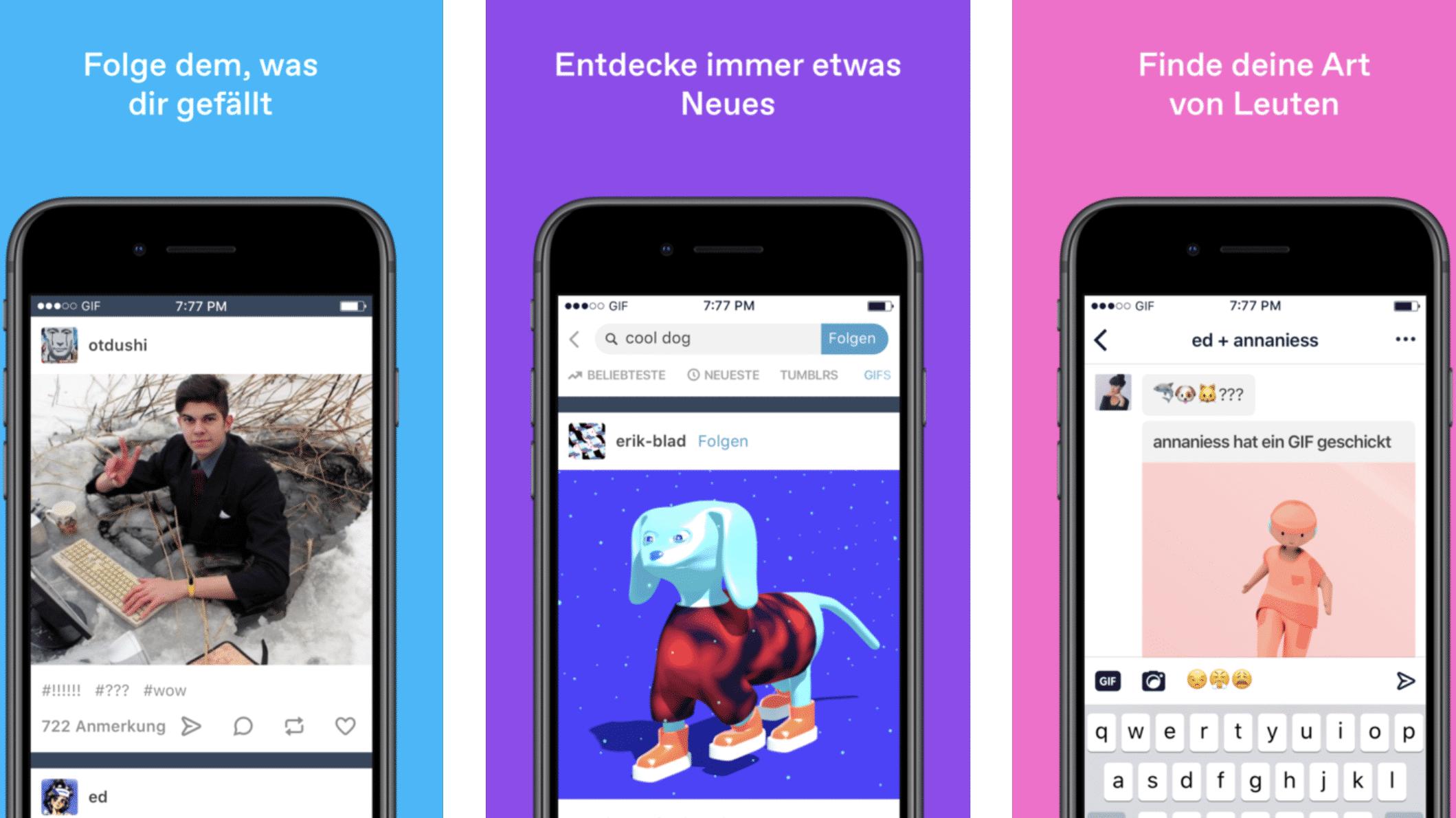 Tumblr nach Porno-Sperre zurück im App Store