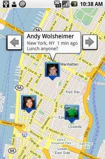 Google Maps mit Latitude