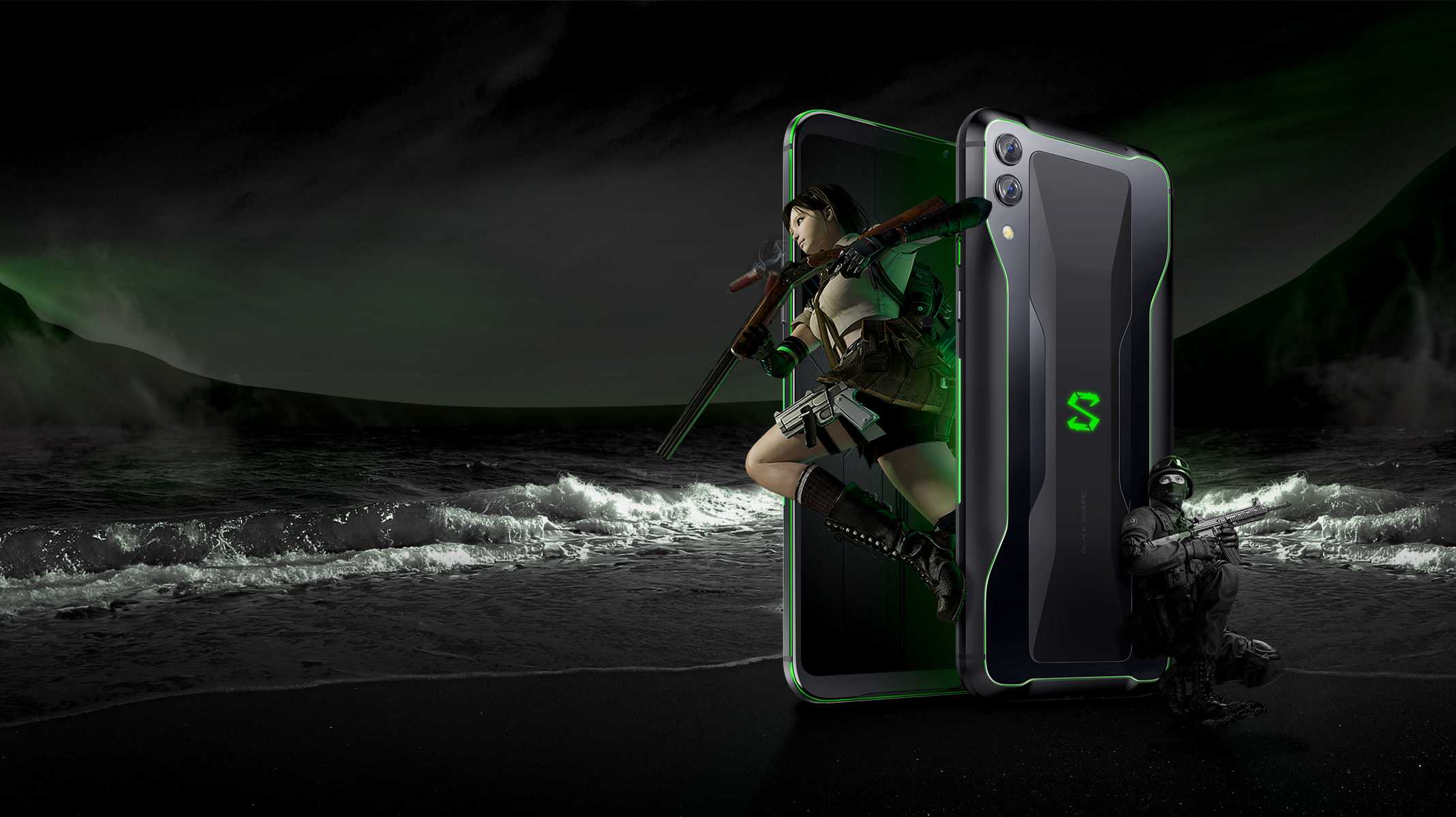 Xiaomi Black Shark 2: Gaming-Smartphone mit 12 Gbyte RAM und Magic Press vorgestellt