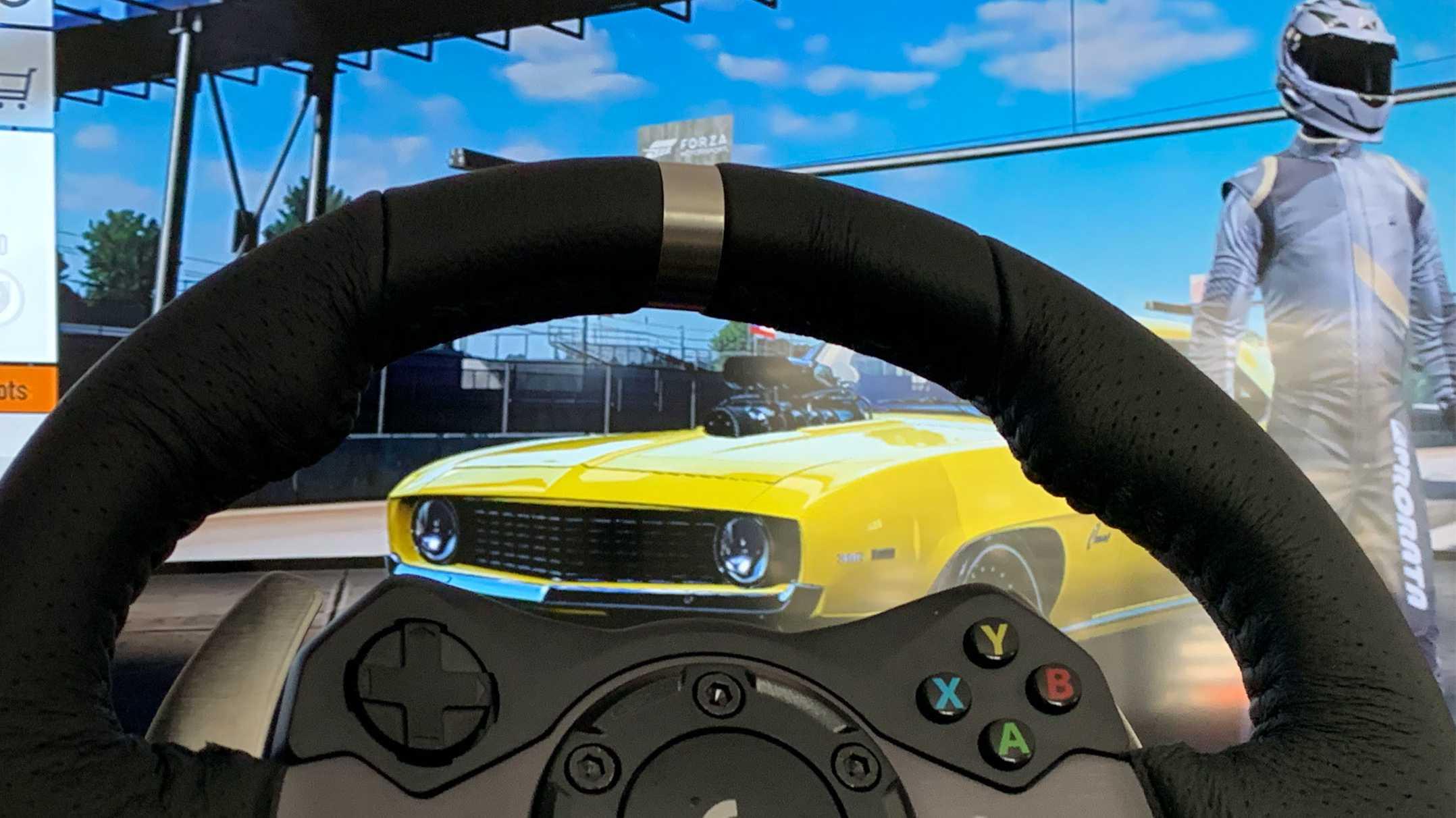 Logitech G920 im Test: Lenkrad für Xbox One & PC