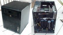 Maßgeschneidertes NAS im Eigenbau mit HPs Microserver