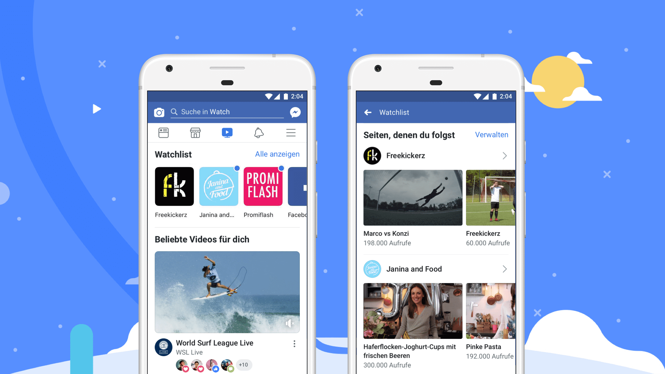 Facebook startet weltweit seine Video-Plattform Watch