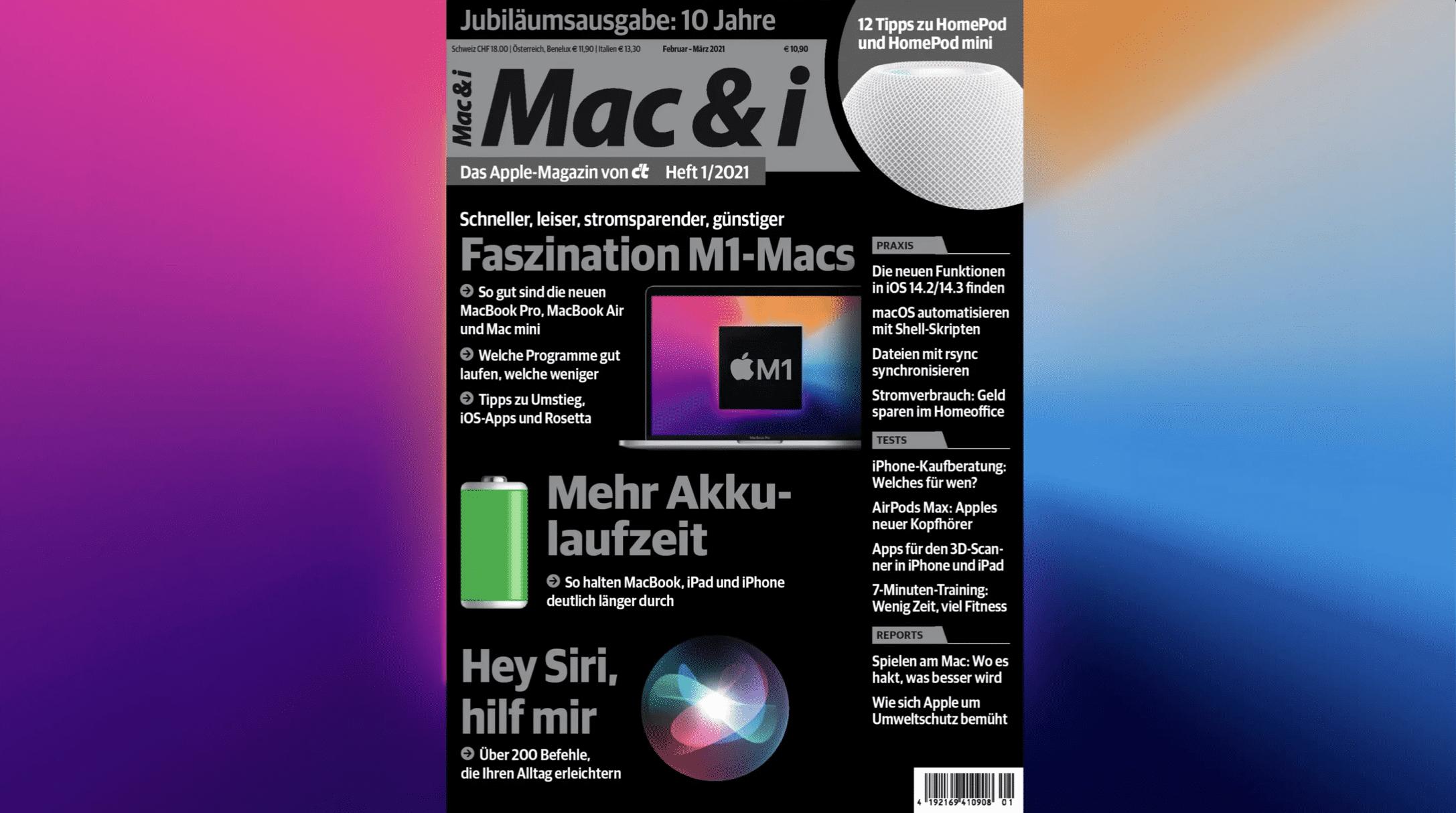 Mac & i Heft 1/2021