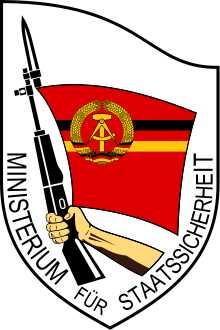 Emblem des Ministeriums für Staatssicherheit der DDR