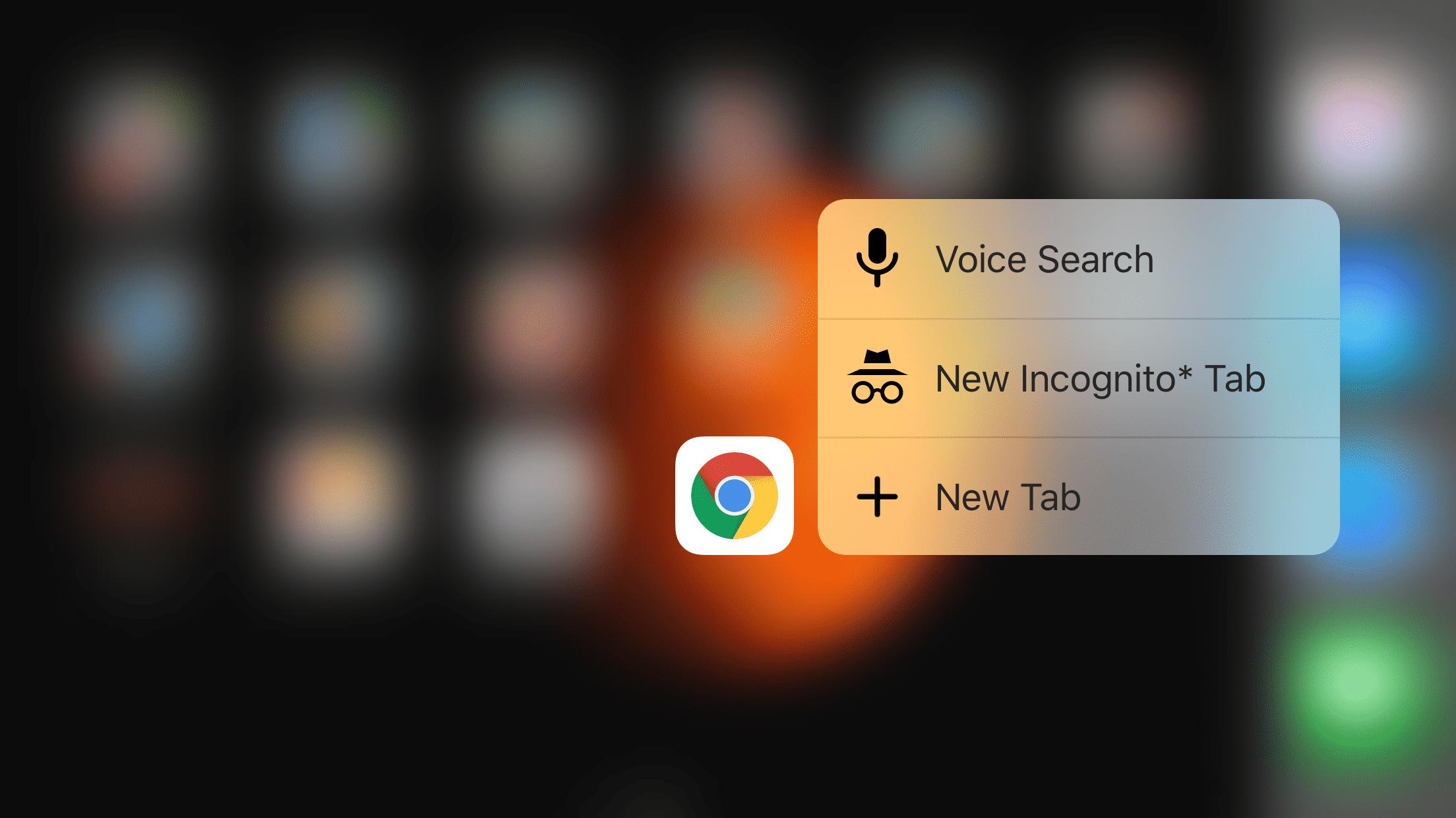 Google-iOS-Apps: Chrome mit 3D Touch, Hangouts mit Apple-Watch-Antworten