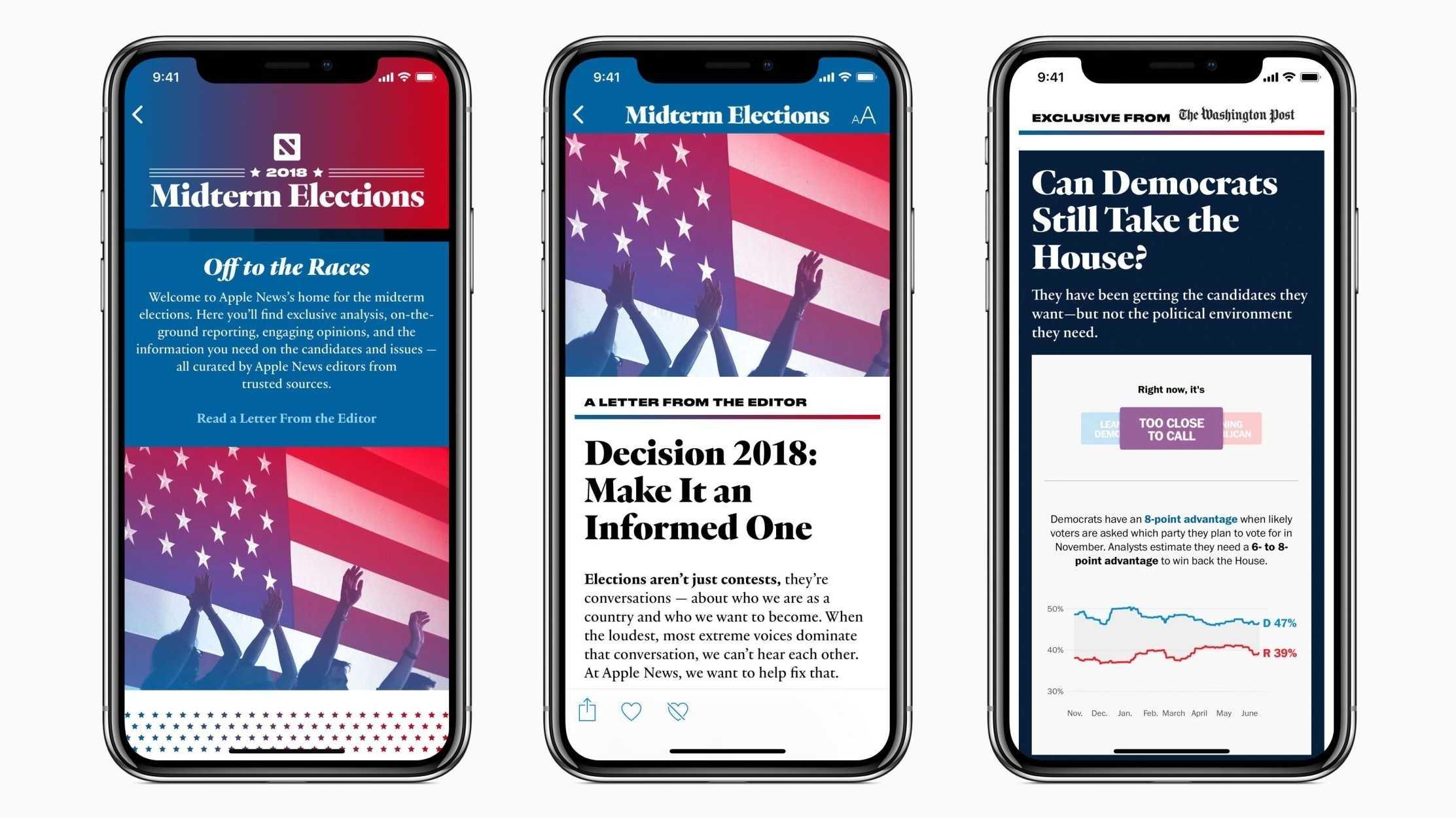"""Apple verspricht """"faktenbasierte Nachrichten"""" zur US-Kongresswahl"""