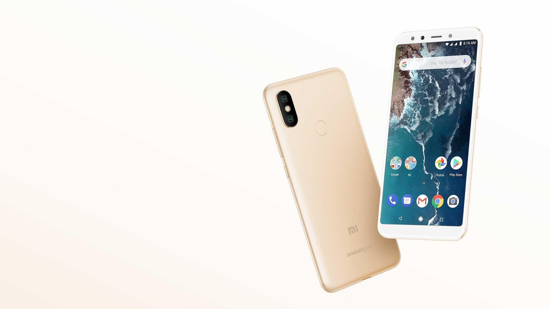 Android One: Xiaomi bringt Mi A2 und Mi A2 Lite nach Europa
