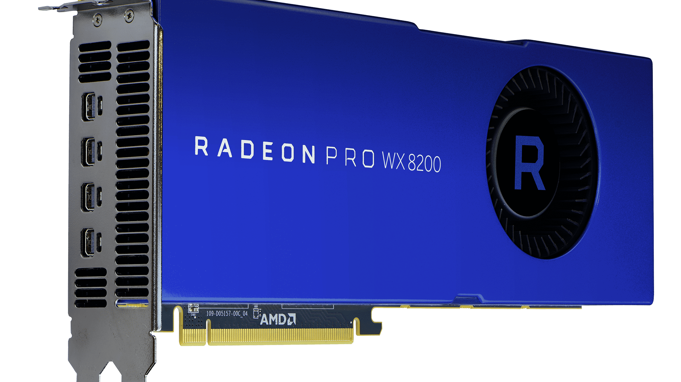 Radeon Pro WX 8200: AMD stellt neue Profi-Grafikkarte vor