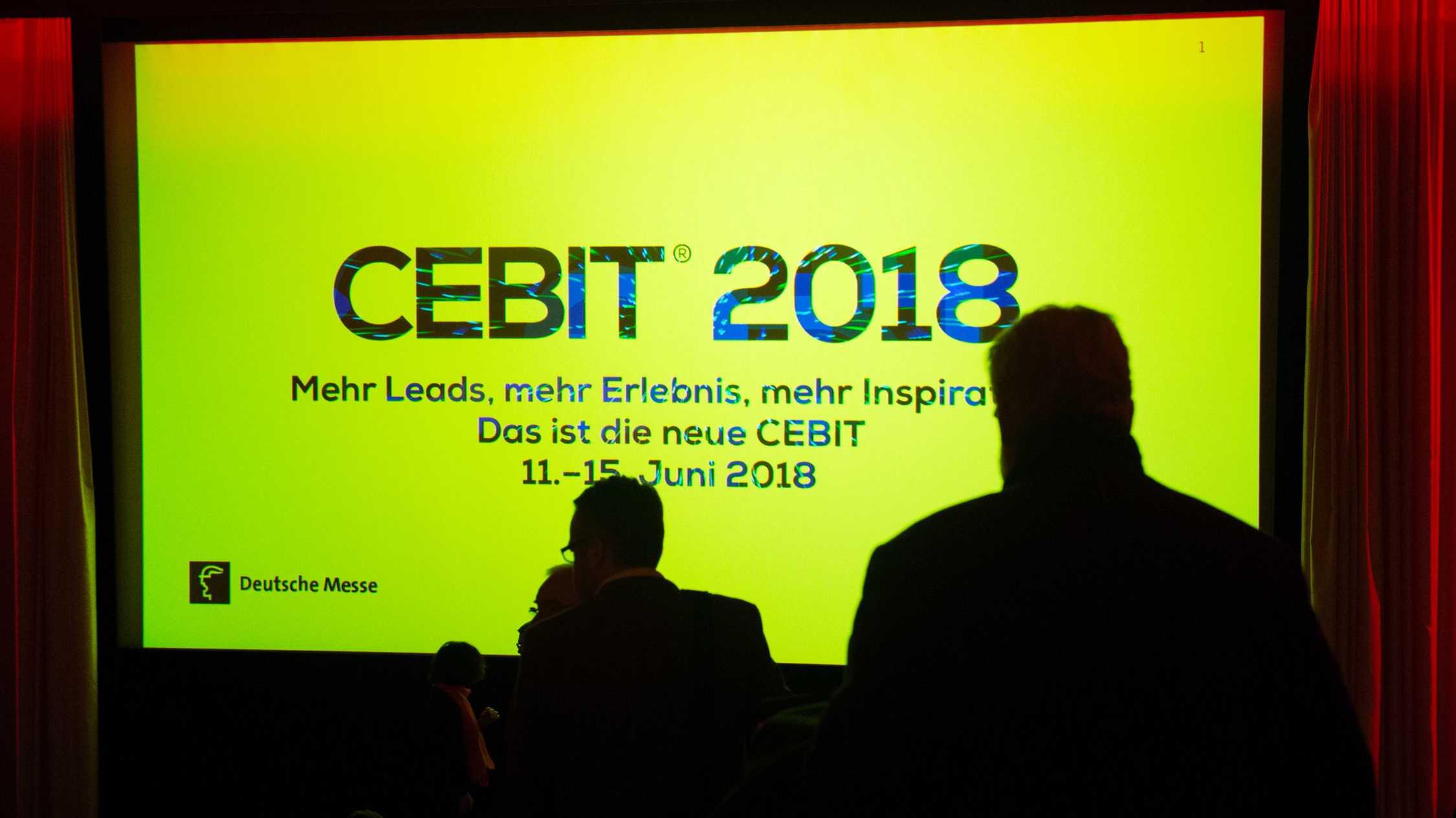 Digitalmesse Cebit vor dem Start - Bis zu 2800 Aussteller erwartet