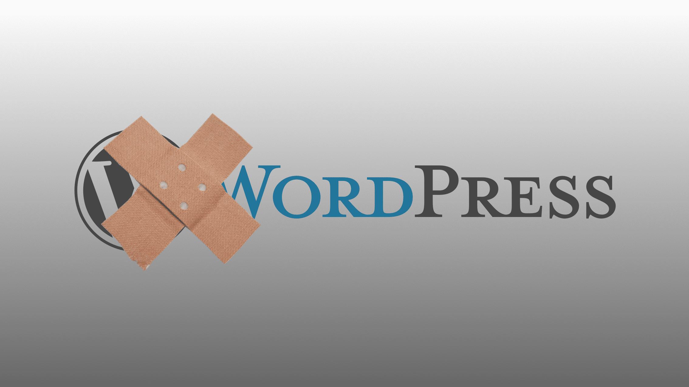 WordPress-Sicherheitsupdate
