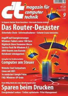 c't zeigt Auswege aus dem Router-Desaster