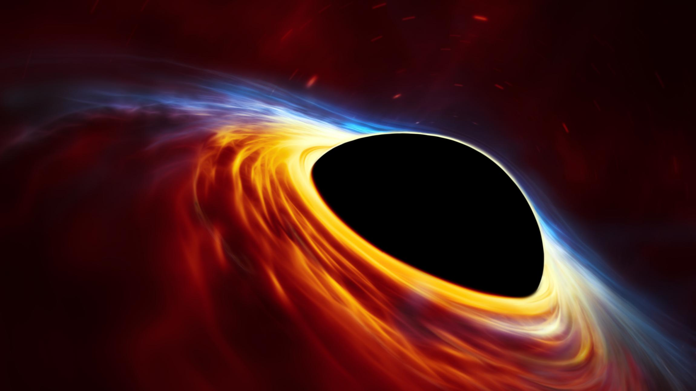 black holes in space - HD 2048×1152