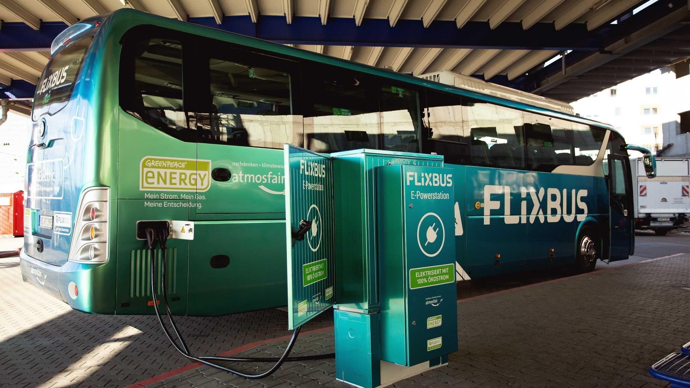 Flixbus schickt ersten Elektro-Fernbus auf deutsche Straßen