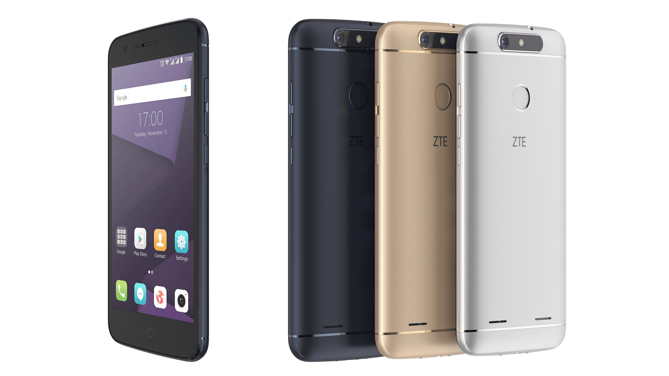 ZTE Blade V8 Lite und V8 Mini: Einsteiger-Smartphones mit 5 Zoll und Android 7