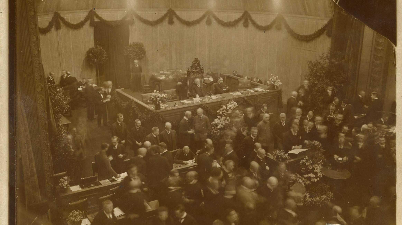 Missing Link: Weimar 1919 - Meine Herren und Damen!