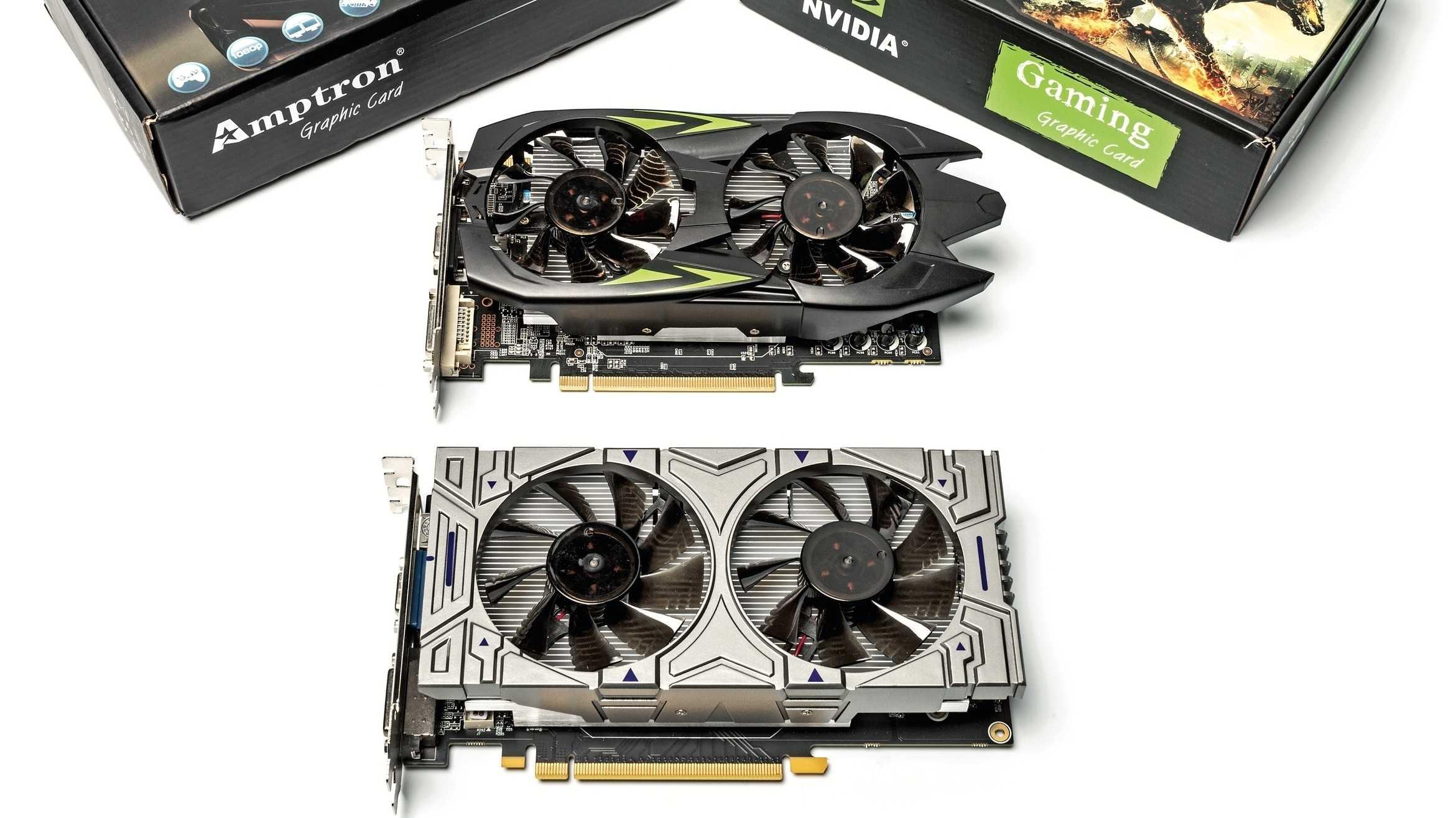 Massenhaft gefälschte Nvidia-Grafikkarten bei eBay: GeForce GTS 450 statt GTX 1060