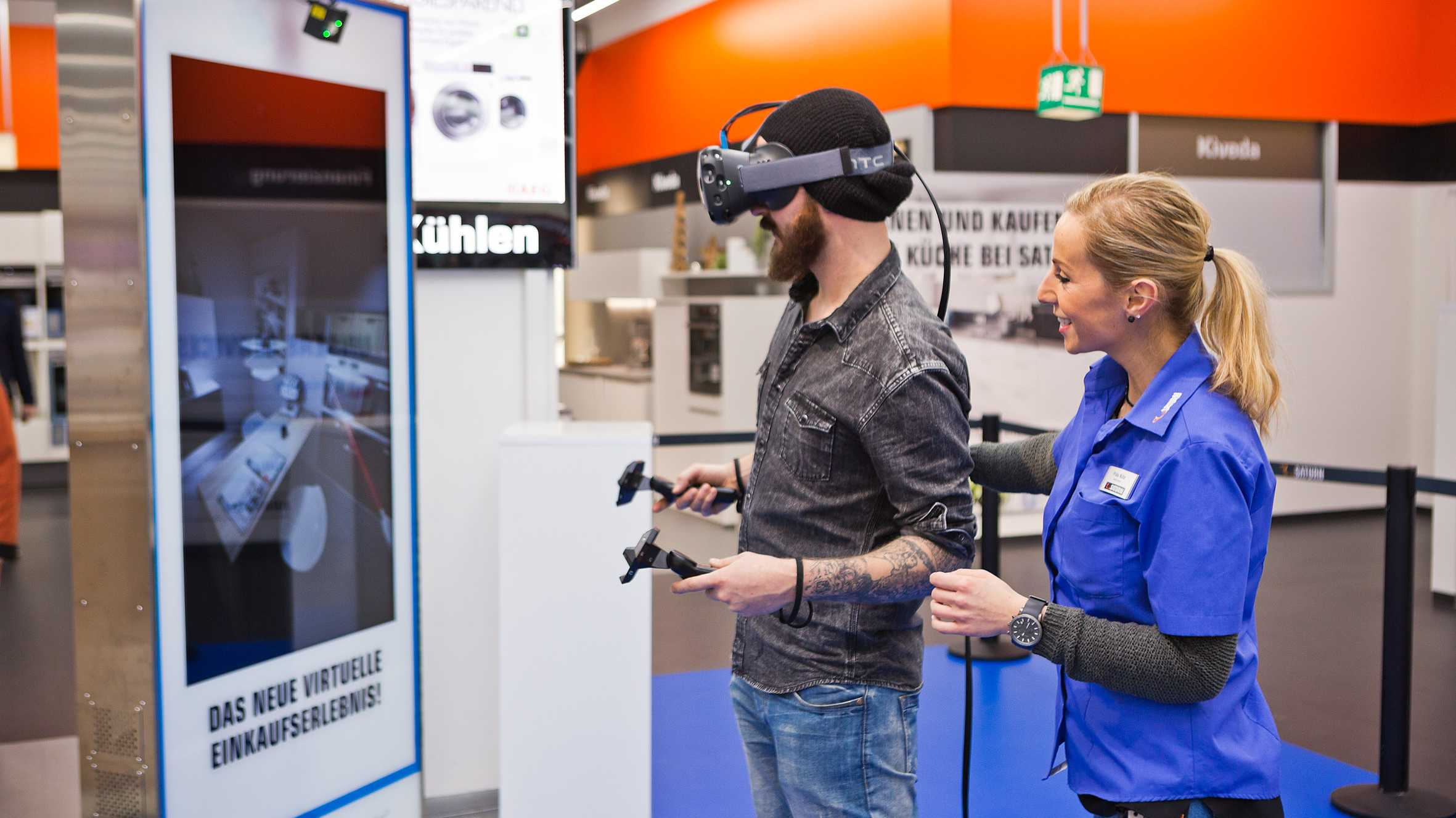 Media-Saturn testet Virtual Reality bei der Küchenplanung