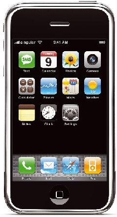 Apples iPhone [239 x 441 Pixel @ 145,6 KB]