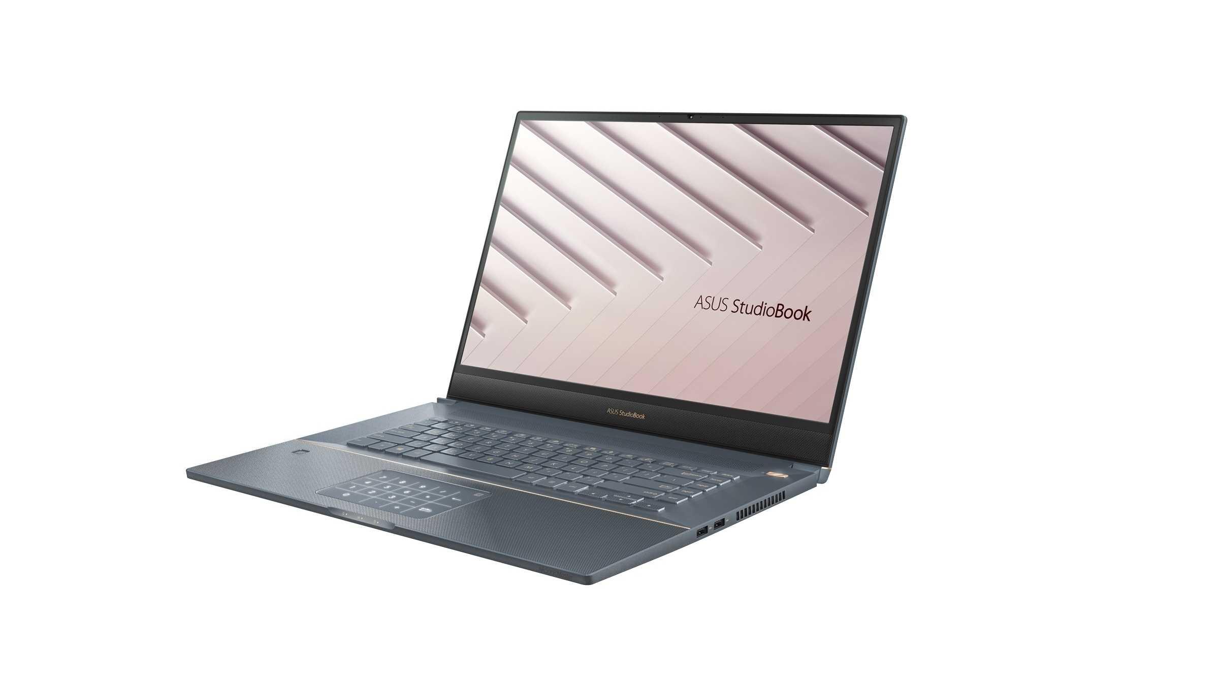 Asus StudioBook S: Workstation-Notebook mit 16:10-Bildschirm