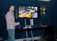 Vorführung der Xbox 360