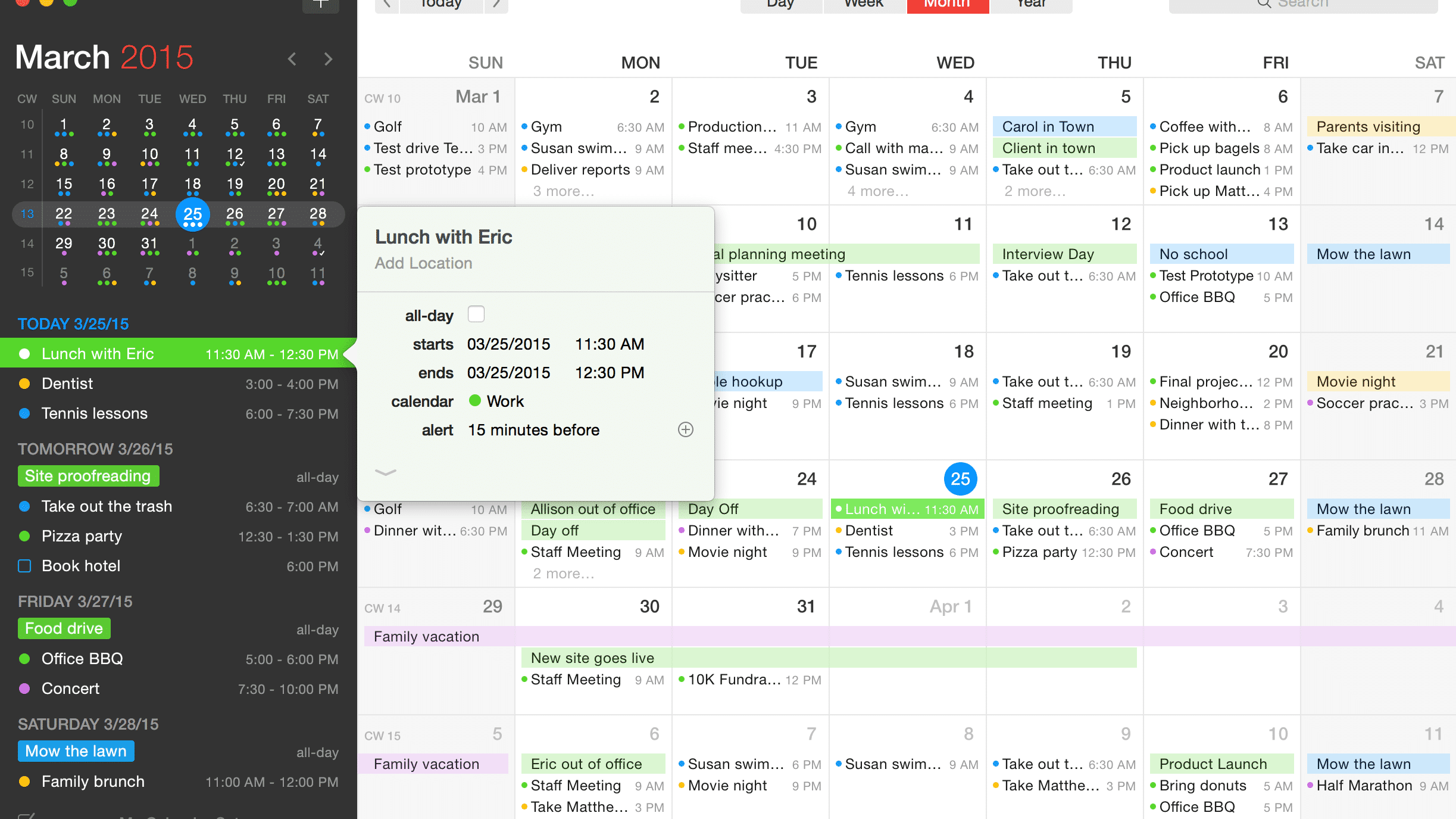 Mac: Großes Update für Kalender-App Fantastical