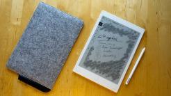 Digitaler Notizblock Remarkable: Hardware fast Papier, Software fast fertig