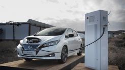 Auf Testfahrt mit dem neuen Nissan Leaf