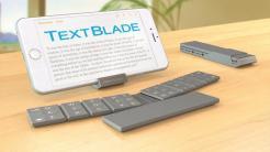 Multitouch-Tastatur zum Zusammenklappen