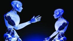 zwei Roboter