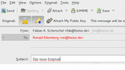 Neue Enigmail-Version bring Feinschliff der UI