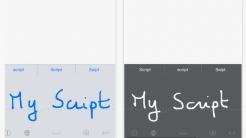 Handschrift-Tastatur für iOS 8