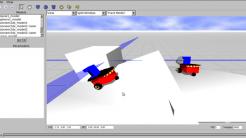 Roboter entwickeln in einer virtuellen 3D-Welt