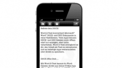iOS-App Word-2-Text aktuell gratis