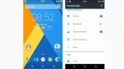 Android CyanogenMod 12 Screenshot