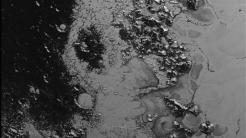 Bergkette auf Pluto