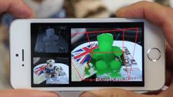 Smartphone-3D-Scanner von Microsoft