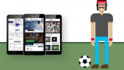 Fußball über Handy schauen