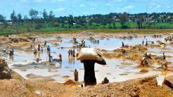 Kupferabbau im Kongo